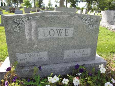 LOWE, DANA D. - Union County, Ohio | DANA D. LOWE - Ohio Gravestone Photos