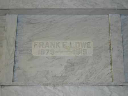 LOWE, FRANK E. - Union County, Ohio | FRANK E. LOWE - Ohio Gravestone Photos