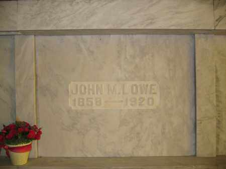 LOWE, JOHN M. - Union County, Ohio | JOHN M. LOWE - Ohio Gravestone Photos