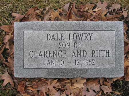 LOWRY, DALE - Union County, Ohio | DALE LOWRY - Ohio Gravestone Photos