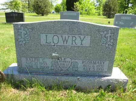 LOWRY, ROSEMARY - Union County, Ohio | ROSEMARY LOWRY - Ohio Gravestone Photos