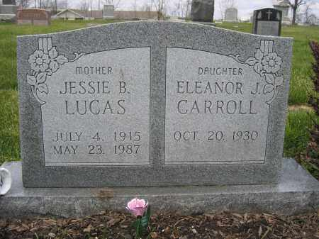 LUCAS, JESSIE B - Union County, Ohio | JESSIE B LUCAS - Ohio Gravestone Photos