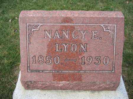 LYON, NANCY E. - Union County, Ohio | NANCY E. LYON - Ohio Gravestone Photos