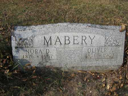 MABERY, NORA D. - Union County, Ohio | NORA D. MABERY - Ohio Gravestone Photos