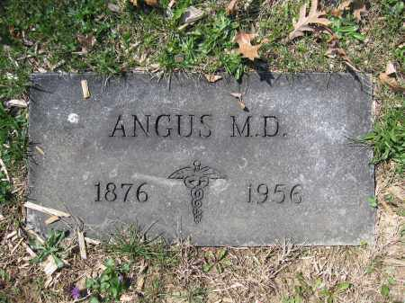 MACIVOR, ANGUS - Union County, Ohio | ANGUS MACIVOR - Ohio Gravestone Photos