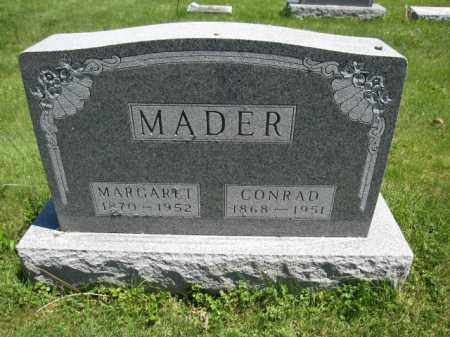 MADER, MARGARET - Union County, Ohio | MARGARET MADER - Ohio Gravestone Photos