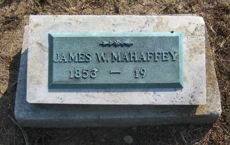 MAHAFFEY, JAMES W. - Union County, Ohio | JAMES W. MAHAFFEY - Ohio Gravestone Photos