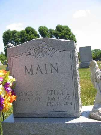MAIN, JAMES N. - Union County, Ohio | JAMES N. MAIN - Ohio Gravestone Photos