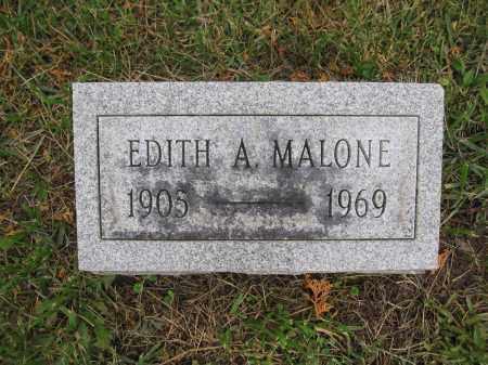 MALONE, EDITH A. - Union County, Ohio | EDITH A. MALONE - Ohio Gravestone Photos