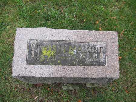 MALONE, LEWIS H. - Union County, Ohio | LEWIS H. MALONE - Ohio Gravestone Photos