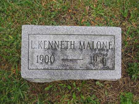 MALONE, L. KENNETH - Union County, Ohio | L. KENNETH MALONE - Ohio Gravestone Photos
