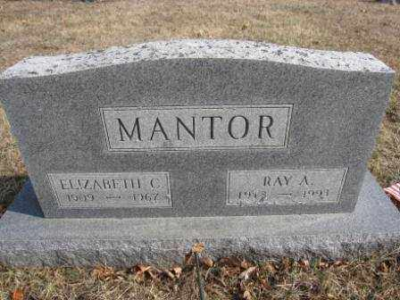 MANTOR, ELIZABETH C. - Union County, Ohio | ELIZABETH C. MANTOR - Ohio Gravestone Photos
