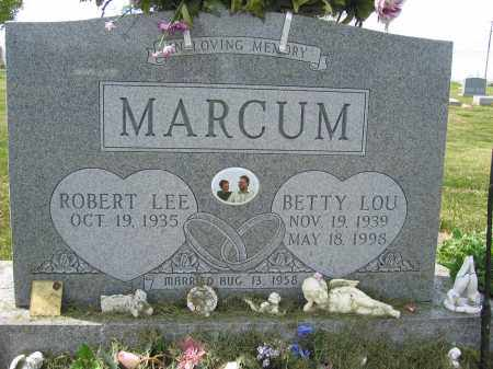 MARCUM, BETTY LOU - Union County, Ohio | BETTY LOU MARCUM - Ohio Gravestone Photos
