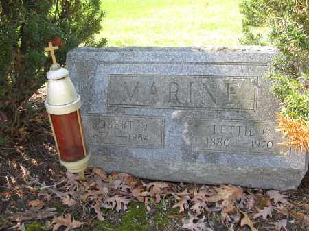 MARINE, ROBERT O. - Union County, Ohio | ROBERT O. MARINE - Ohio Gravestone Photos