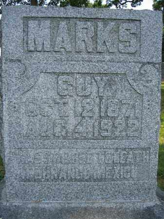 MARKS, GUY - Union County, Ohio | GUY MARKS - Ohio Gravestone Photos