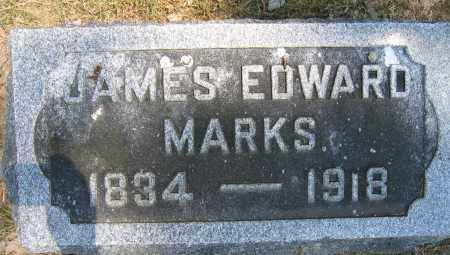 MARKS, JAMES EDWARD - Union County, Ohio | JAMES EDWARD MARKS - Ohio Gravestone Photos