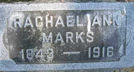 MARKS, RACHEL ANN - Union County, Ohio | RACHEL ANN MARKS - Ohio Gravestone Photos