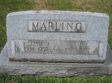 MARLING, WILLIAM J. - Union County, Ohio | WILLIAM J. MARLING - Ohio Gravestone Photos