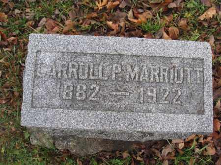 MARRIOTT, CARROLL PUIE - Union County, Ohio | CARROLL PUIE MARRIOTT - Ohio Gravestone Photos