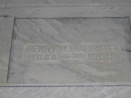 MARRIOTT, HENRY W. - Union County, Ohio | HENRY W. MARRIOTT - Ohio Gravestone Photos