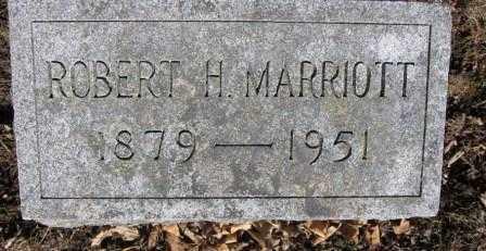 MARRIOTT, ROBERT H. - Union County, Ohio | ROBERT H. MARRIOTT - Ohio Gravestone Photos