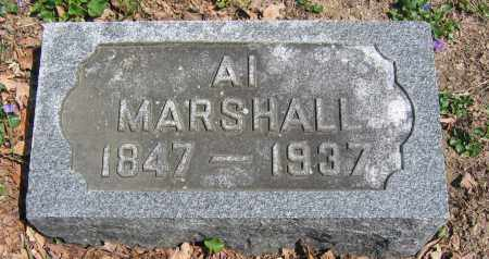 MARSHALL, AL - Union County, Ohio | AL MARSHALL - Ohio Gravestone Photos