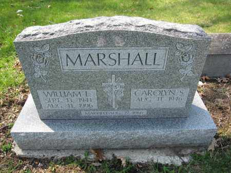 MARSHALL, WILLIAM L. - Union County, Ohio | WILLIAM L. MARSHALL - Ohio Gravestone Photos