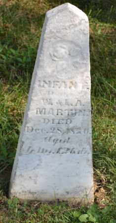 MARTIN, INFANT DAUGHTER - Union County, Ohio | INFANT DAUGHTER MARTIN - Ohio Gravestone Photos