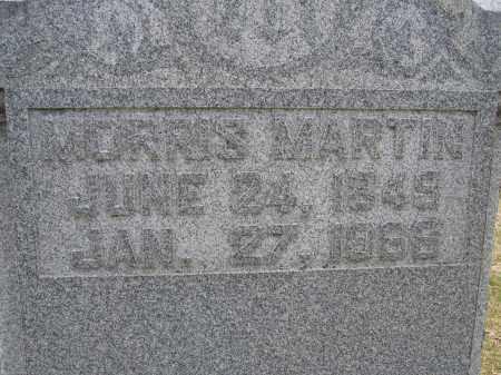 MARTIN, MORRIS - Union County, Ohio | MORRIS MARTIN - Ohio Gravestone Photos