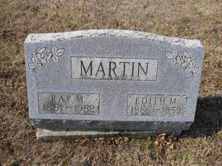 MARTIN, RAY M. - Union County, Ohio | RAY M. MARTIN - Ohio Gravestone Photos