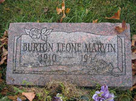 MARVIN, BURTON LEONE - Union County, Ohio | BURTON LEONE MARVIN - Ohio Gravestone Photos