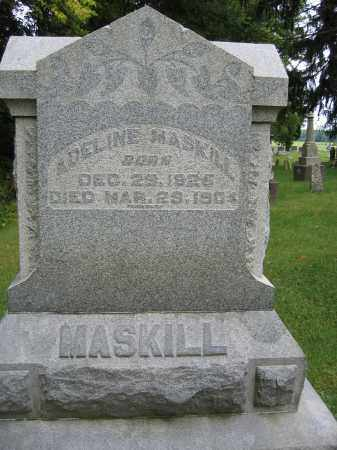 MASKILL, ADELINE - Union County, Ohio | ADELINE MASKILL - Ohio Gravestone Photos