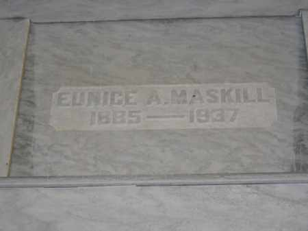 MASKILL, EUNICE A. - Union County, Ohio | EUNICE A. MASKILL - Ohio Gravestone Photos