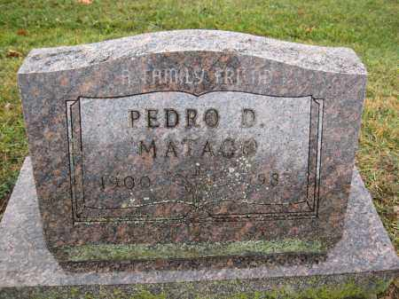 MATAGO, PEDRO D. - Union County, Ohio | PEDRO D. MATAGO - Ohio Gravestone Photos