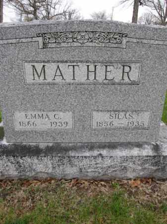 MATHER, EMMA C. - Union County, Ohio | EMMA C. MATHER - Ohio Gravestone Photos