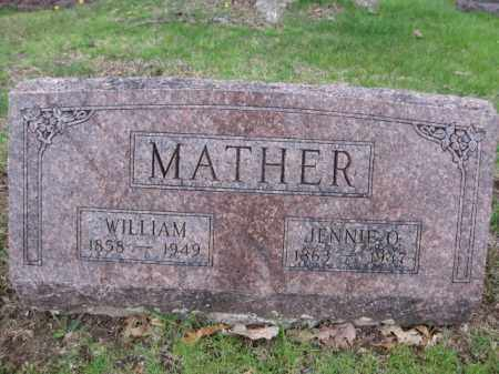 MATHER, JENNIE O. - Union County, Ohio | JENNIE O. MATHER - Ohio Gravestone Photos