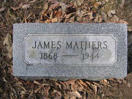 MATHERS, JAMES - Union County, Ohio | JAMES MATHERS - Ohio Gravestone Photos