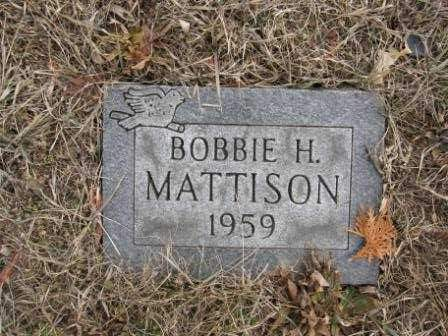 MATTISON, BOBBIE H. - Union County, Ohio | BOBBIE H. MATTISON - Ohio Gravestone Photos