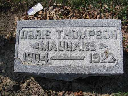 MAUGANS, DORIS THOMPSON - Union County, Ohio | DORIS THOMPSON MAUGANS - Ohio Gravestone Photos