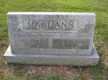 MAUGANS, MATIE AINSWORTH - Union County, Ohio | MATIE AINSWORTH MAUGANS - Ohio Gravestone Photos