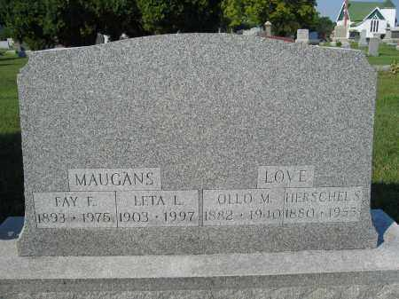 LOVE, OLLO M. - Union County, Ohio | OLLO M. LOVE - Ohio Gravestone Photos