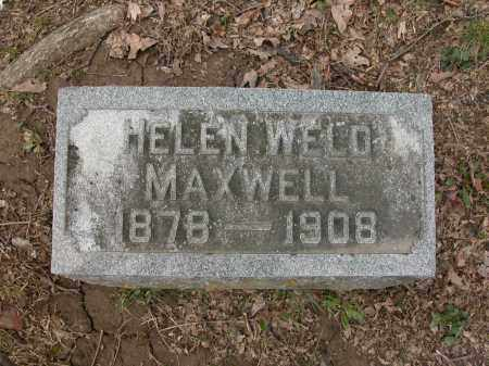 MAXWELL, HELEN WELD - Union County, Ohio | HELEN WELD MAXWELL - Ohio Gravestone Photos