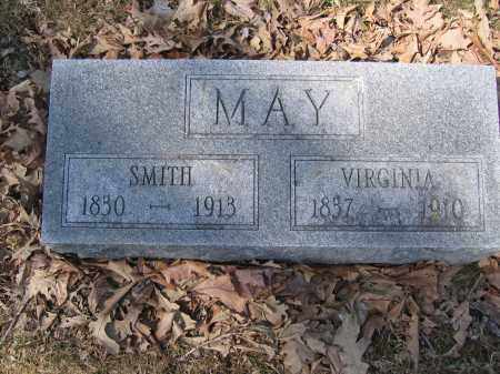 MAY, VIRGINIA - Union County, Ohio | VIRGINIA MAY - Ohio Gravestone Photos