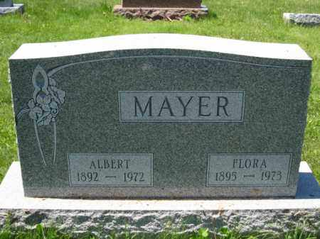 MAYER, FLORA - Union County, Ohio | FLORA MAYER - Ohio Gravestone Photos