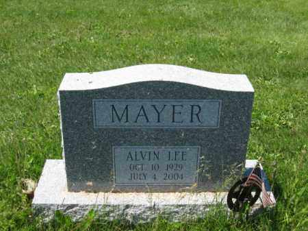 MAYER, ALVIN LEE - Union County, Ohio | ALVIN LEE MAYER - Ohio Gravestone Photos