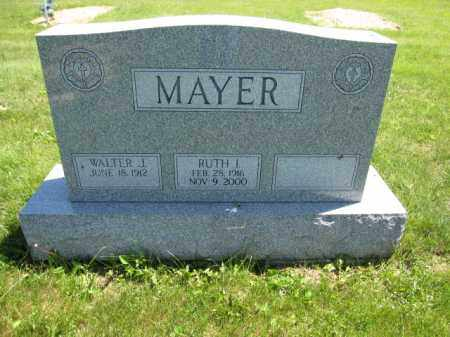 MAYER, WALTER J. - Union County, Ohio | WALTER J. MAYER - Ohio Gravestone Photos