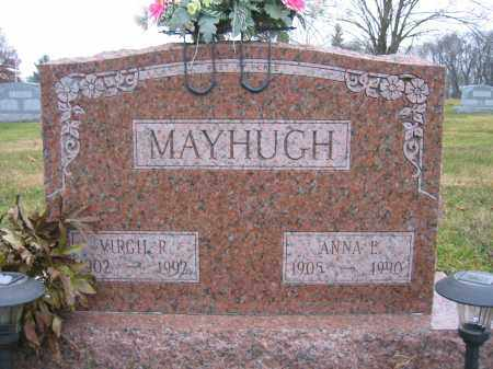MAYHUGH, VIRGIL R. - Union County, Ohio | VIRGIL R. MAYHUGH - Ohio Gravestone Photos