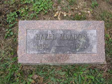 MCADOW, HAZEL - Union County, Ohio | HAZEL MCADOW - Ohio Gravestone Photos