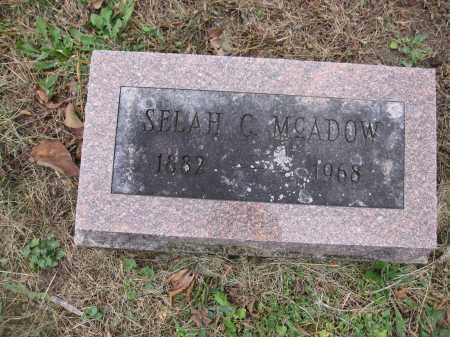 MCADOW, SELAH C. - Union County, Ohio | SELAH C. MCADOW - Ohio Gravestone Photos