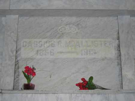 MCALLISTER, CASSIUS R. - Union County, Ohio | CASSIUS R. MCALLISTER - Ohio Gravestone Photos